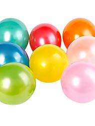 ballons ronds nacrés (peut choisir la couleur, 100pcs)