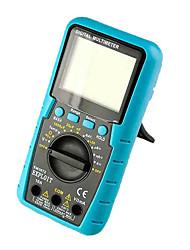 Gamme automatique 3-1 / 2 chiffres multimètre numérique avec la température et de la fonction de test de la batterie exploiter em3672