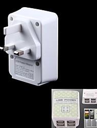4 ports adaptateur 4000mA usb / chargeur (100 ~ 240V / prise uk)