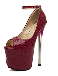 Women's Shoes  Peep Toe Stiletto Heel Pumps Shoes