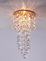 двухуровневая традиционный мини кристалл потолочный светильник с золотым напылением