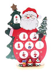 legno Babbo Natale regali di articoli di arredamento