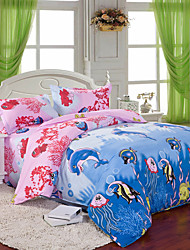 Mingjie Sea World Bedding Sets 4pcs Duvet Cover Sets Bed Linen China Queen Size and Full Size