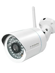 KAVASS®720P Megapixels Wireless Night Vision Outdoor IP Camera (Waterproof, IR, Free P2P)