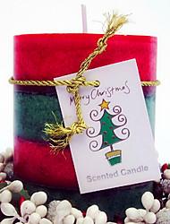 50 часов ваниль крем Свеча рождества, парафиновые