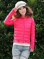Seng.ni Women's  European Fashion Elegant Cheap Cotton Coat