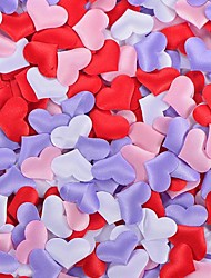 2*1.5cm Heart Shaped Wedding Decoration - Set of 100 (More Colors)