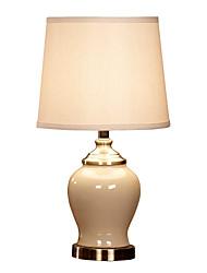 céramique lampe de table de style de luxe