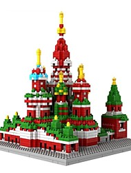 Moscow Vasile Assumption Cathedral 3D DIY Plastic Puzzle Assembling Building Blocks Game Toy for Kids(1860PCS)