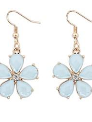 Women's Clearance Flower Drops Cute Hooked Dangle Earrings