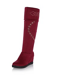 Women's Shoes  Fashion Boots Wedge Heel  Over The Knee Boots More Colors available
