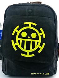 один кусок смерть врач Трафальгарской закон черные точки рисунок косплей рюкзак / сумка