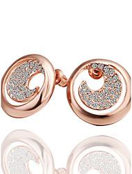 Jinfu Elegant Gold Plating Earrings
