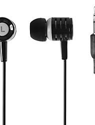 haute performance mode stéréo 3,5 mm écouteurs intra-auriculaires basse lourde pour l'iphone iphone 6 6 plus