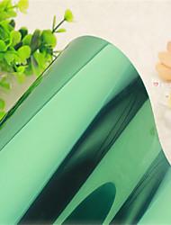 minimalista sólido janela filme fosco verde moderna - 0,9 × 5 m (2,95 × 16,4 pés)
