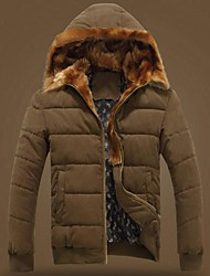 Men's  Hooded Winter Warm Coat