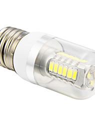 E26/E27 5 W 27 SMD 5730 350 LM Cool White T Corn Bulbs AC 100-240 V