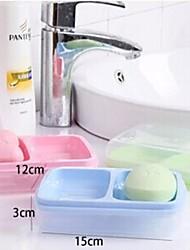 Candy Colors Two Position Soap Dish(Random Color)