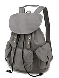 bolsa de lona de campamento escolar academicismo moda mochila de unisex