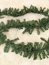 Christmas Rattan Pine Branches Christmas Decoration Christmas Tree Ornament(2.5M)
