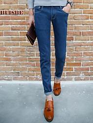 Men's Jeans , Casual Pure Denim