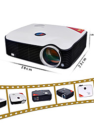 Projetor Home Theater LCD, 381cm 2600Lumens, 800x600 com entrada HDMI VGA TV AV USB (PH5)