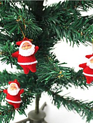 3 PCS Santa Pendant Christmas Tree Festival Dolls