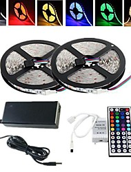 Tiras LED Flexibles Sets de Luces Tiras de Luces RGB lm AC100-240 V 10 m leds RGB
