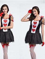 Queen of Heart Black Adult Women's Halloween Costume
