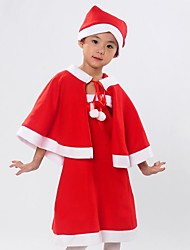 Santa Claus Dress Kids Christmas Costume