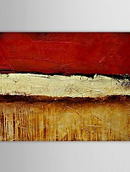 Hand Painted Oil Painting Abstract Large Picture with Stretched Frame