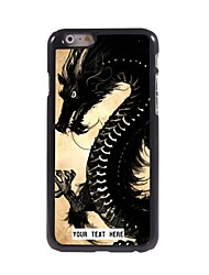 Personalized Phone Case - Dragon Design Metal Case for iPhone 6 Plus