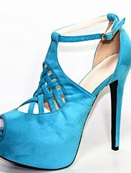 sapatos femininos peep toe plataforma stiletto calcanhar bombas de sapatos