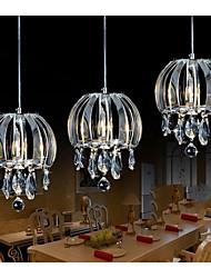 contemporânea contraiu uma luz de teto de cristal da lâmpada da varanda sala de estar quarto corredor acrílico