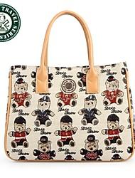 DAKA BEAR® Elegant Designer Handbag Bag Wholesale Hobo Brand Bags Canvas Tote Bags