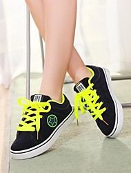 Women's Shoes Round Toe Flat Heel Canvas Fashion Sneakers Shoes More Colors available