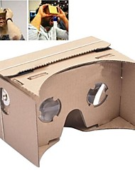 diy google Karton Virtual Reality 3D-Brille für iPhone 5s / Samsung Galaxy S4 mini / S3 mini / nokia / lg / moto