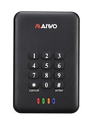 "maiwo 2.5 ""USB 3.0 SATA-Verschlüsselungsschlüssel externe Festplatte hdd Einschließung k2533"