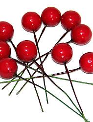 0.8inch набор из 10 рождественских украшений ягоды, пены