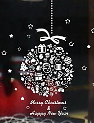 Wall Stickers Wall Decals, Christmas Home Decoration Mural PVC Wall Stickers