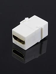 lwm® feminino HDMI para acoplador conector fêmea para faceplates parede