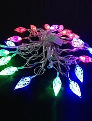 lampe de lumière de bande de lumière rgb diamant 5m 4.8W noël éclair 20-conduit (plug UE, ca 110-220V)