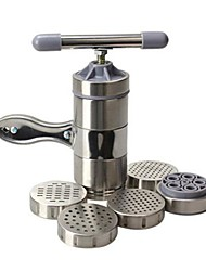 Portable Home Stainless Steel Pasta Noodle Press Machine with 5  Template