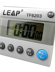 0.01s Single Line 0~10h with Countdown Digital Stopwatch with Time for Kitchen LEAP TF6203