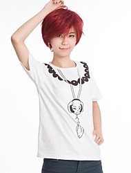 One Piece Portgas·D· Ace White Cosplay T-shirt(Women's Size)