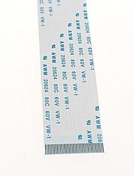 40PIN FFC / TTL flat line spacing 0.5MM soft cable length 25CM in the same direction (5pcs)