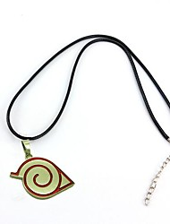 Jewelry Inspired by Naruto Cosplay Anime Cosplay Accessories Necklace Red Alloy Male