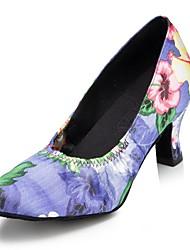 Zapatos de baile (Morado) - Moderno - No Personalizable - Tacón de estilete