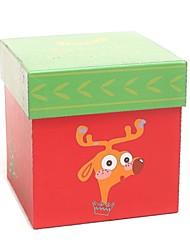 Elch-Muster Weihnachten Geschenk-Boxen