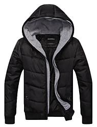 SMR Men's Casual Hooded Warm Long Sleeve Coat_14